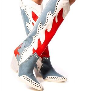 New Americana vintage western boots size 8.5